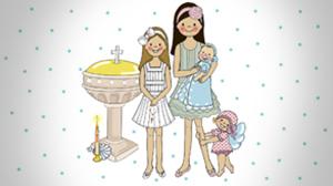 Dibujos de bautizos